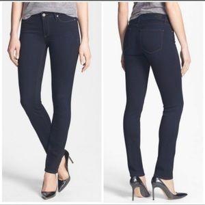 Paige Skyline Skinny Rosalyn dark wash jeans
